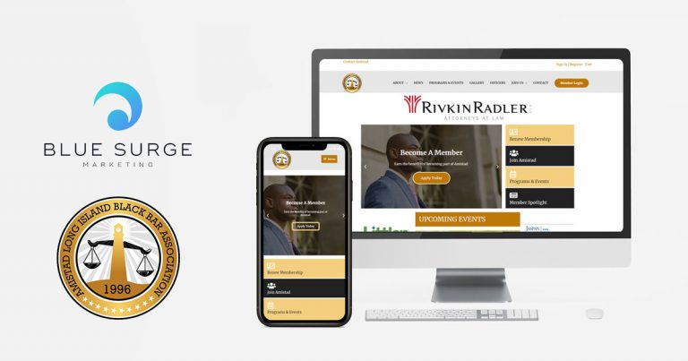 Amistad Partners With Blue Surge Marketing Agency To Redesign Website